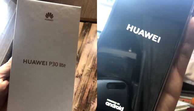 HUAWEI P30 lite SIMフリー 64GB