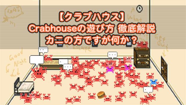【クラブハウス】Crabhouseの美味しい楽しみ方 カニの方ですが何か?